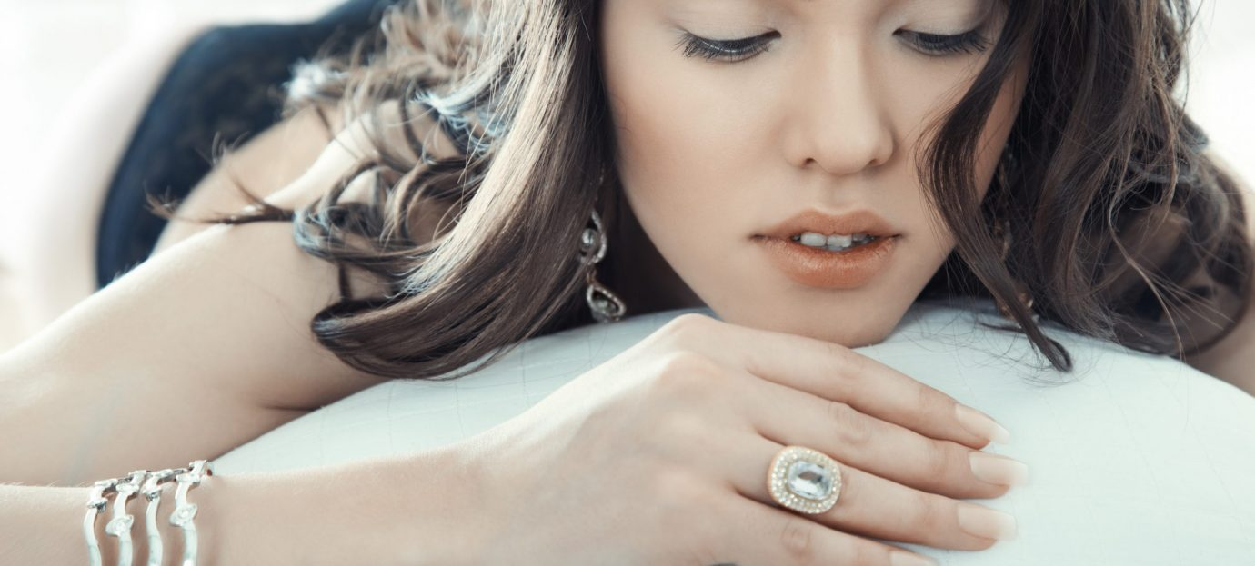Ruby on Rose Accessories and Blue Gemstones